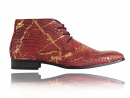 Croco Red Gold